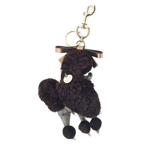 Gucci Lulu Guccioli Poodle Key Ring Bag Charm 56387 Front Large 1 Jpg