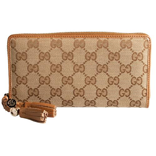 Gucci Marrakech Continental Zip Around Wallet