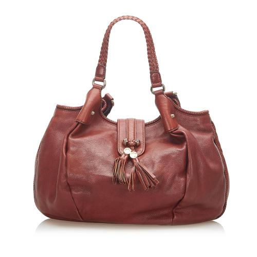 Gucci Marrakech Leather Hobo Bag