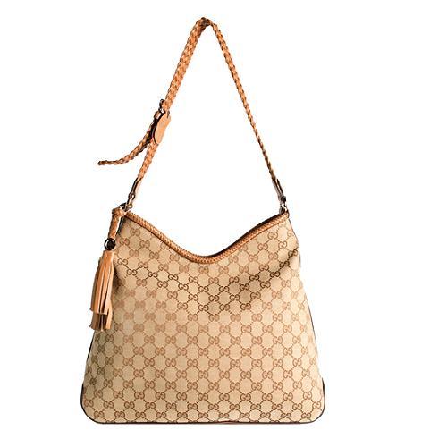 Gucci Marrakech Medium Hobo Handbag