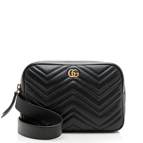 Gucci Matelasse GG Marmont Belt Bag - Size 80