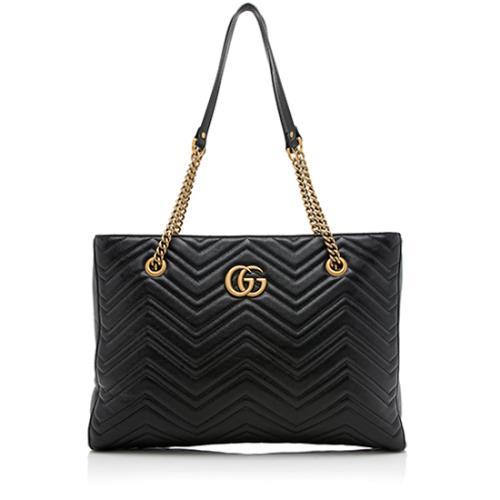 Gucci Matelasse GG Marmont Chain Tote