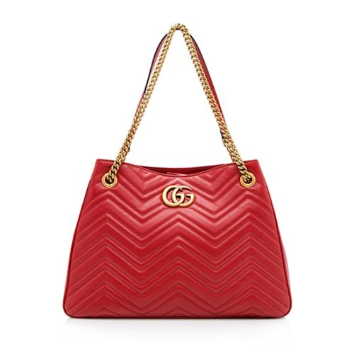 Gucci Matelasse GG Marmont Medium Shoulder Bag