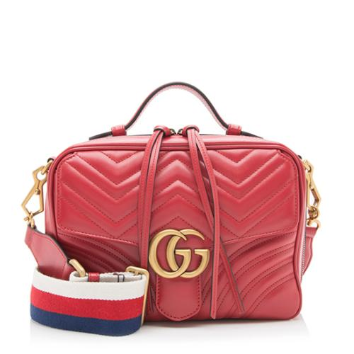 Gucci Matelasse GG Marmont Small Shoulder Bag