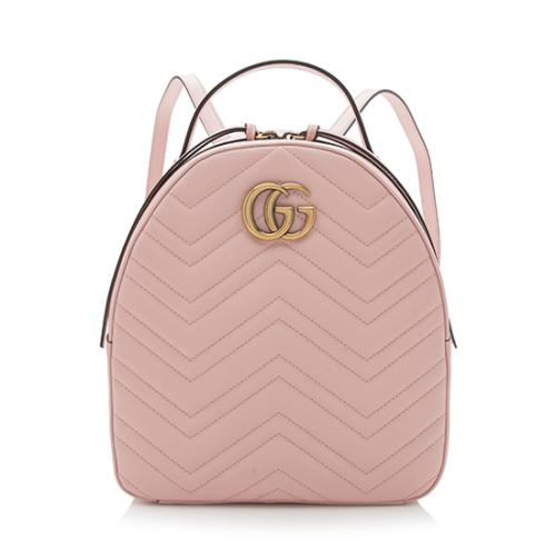 dabd08a48397 Gucci Matelasse Leather GG Marmont Backpack