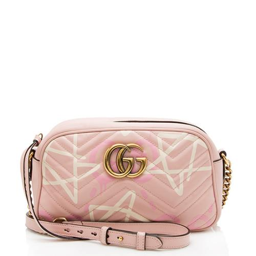 Gucci Matelasse Leather GG Marmont Gucci Ghost Small Shoulder Bag