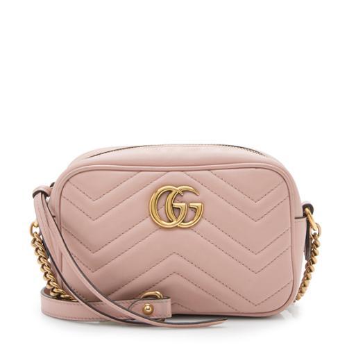 Gucci Matelasse Leather GG Marmont Mini Bag
