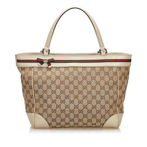 Gucci GG Canvas Mayfair Medium Tote