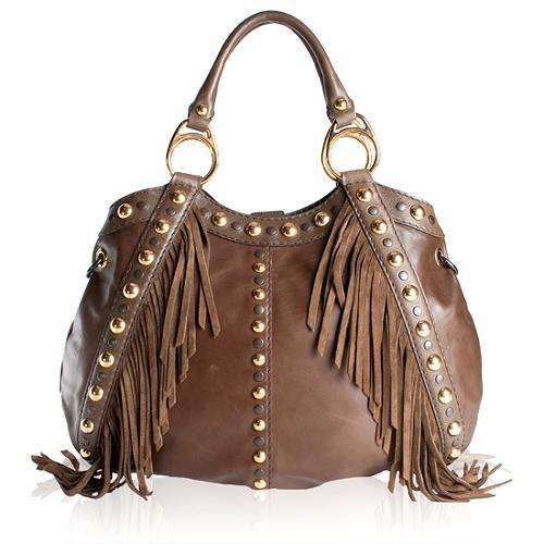 Gucci Medium Babouska Top Handle Hobo Handbag