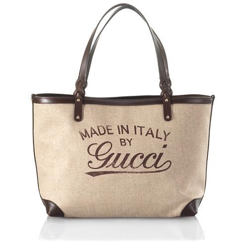Gucci Medium Craft Tote