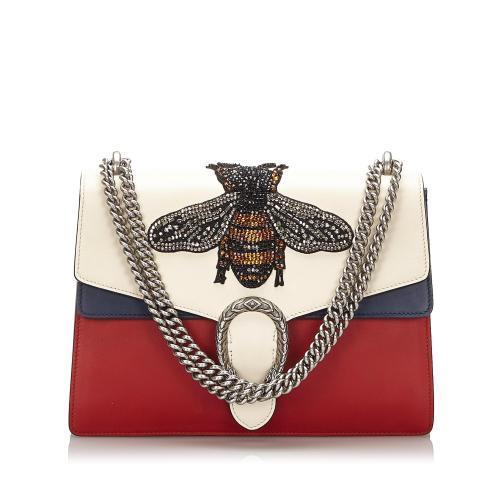 Gucci Medium Embellished Dionysus Shoulder Bag