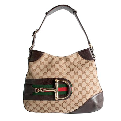 Gucci Medium Horsebit Shoulder Handbag