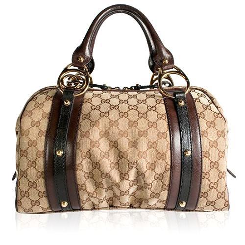 Gucci Medium Interlocking Boston Satchel Handbag