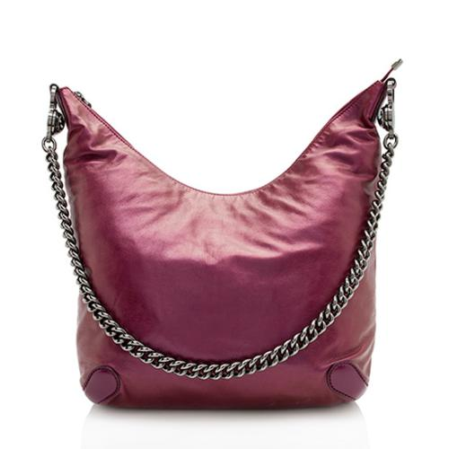 Gucci Metallic Leather Galaxy Medium Shoulder Bag