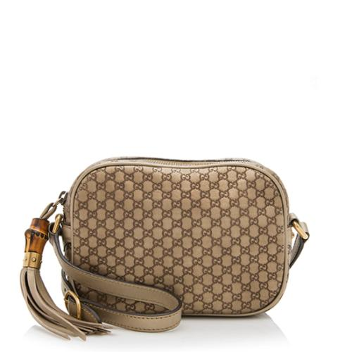 Gucci Microguccissima Leather Disco Bag