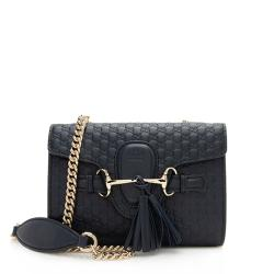 Gucci Microguccissima Leather Emily Mini Shoulder Bag