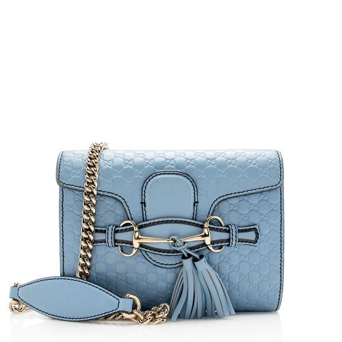 Gucci Microguccissima Leather Emily Mini Shoulder Bag