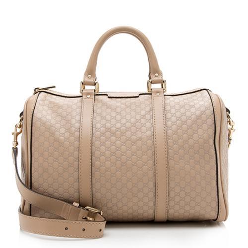 Gucci Microguccissima Leather Joy Boston Satchel