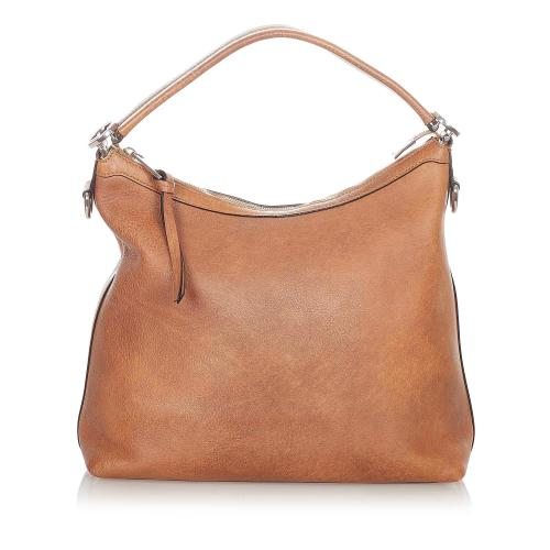 Gucci Miss GG Leather Satchel