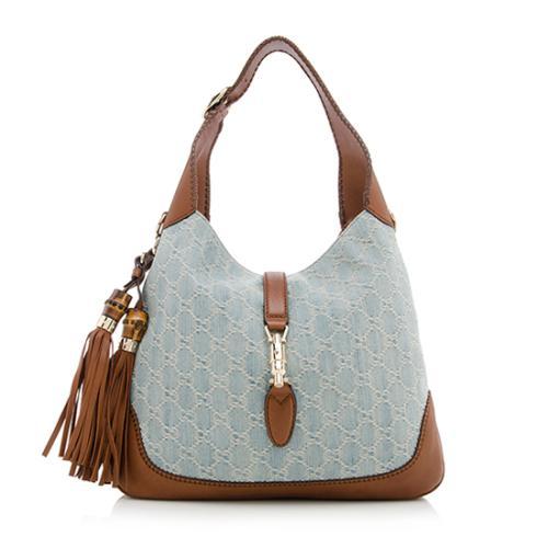 4e426a6da4918 Gucci-New-Jackie-Denim-GG-Medium-Shoulder-Bag 73611 front large 1.jpg