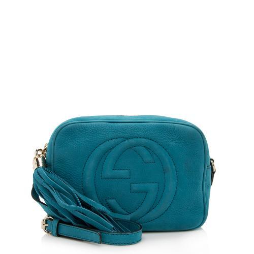 Gucci Nubuck Soho Disco Bag