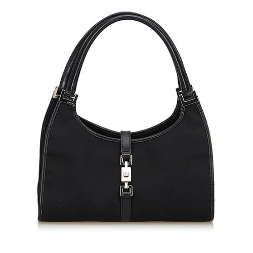 Gucci Nylon Bardot Shoulder Bag
