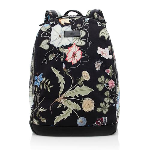 Gucci Nylon Flora Backpack