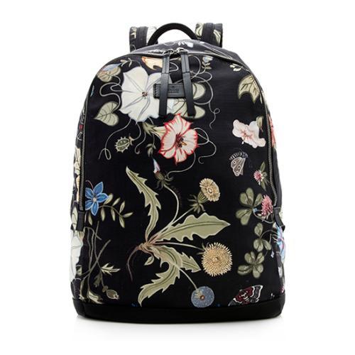 Gucci Nylon Flora Backpack