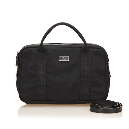 Gucci Nylon Two Way Shoulder Bag