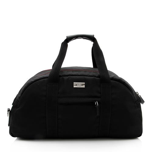 Gucci Nylon Web Duffel Bag
