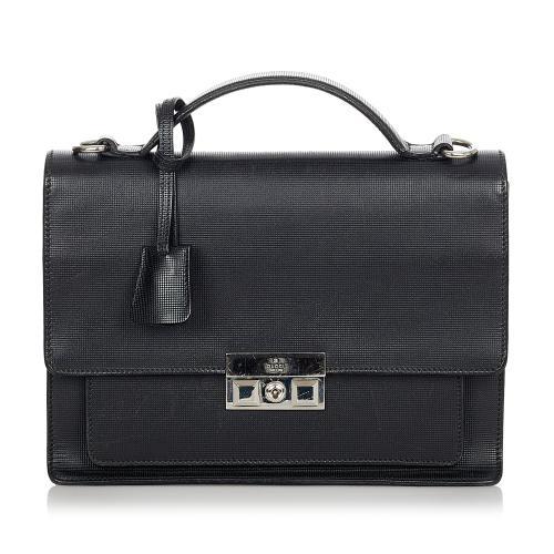 Gucci Padlock Leather Satchel