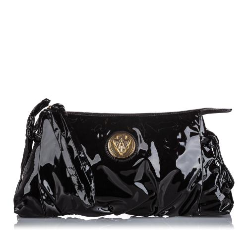 Gucci Patent Leather Hysteria Clutch
