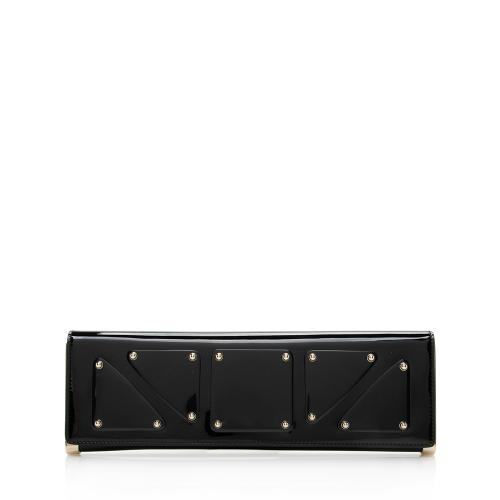 Gucci Patent Leather Romy Mirror Clutch