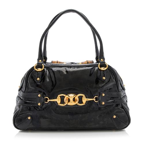 a1882f48fc6 Gucci-Patent-Leather-Wave-Boston-Satchel 91145 front large 0.jpg