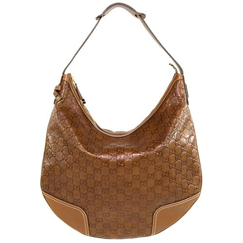 81a60a724 Gucci 'Princy' Large Guccissima Hobo Handbag