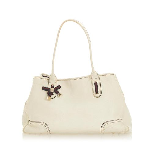 Gucci Princy Leather Tote Bag