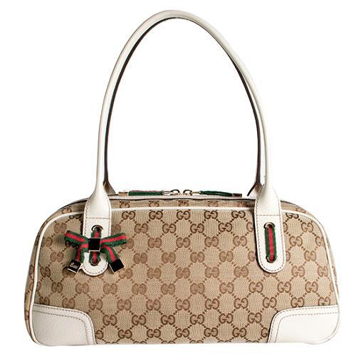 Gucci Princy Medium Boston Satchel Handbag