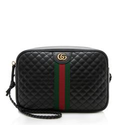 Gucci Quilted Leather Trapuntata Small Shoulder Bag