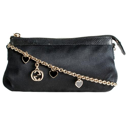 Gucci Satin Charms Clutch