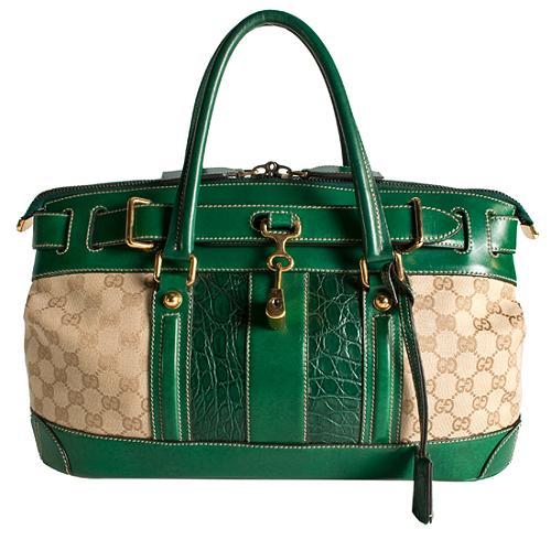 Gucci Secret GG Satchel Handbag