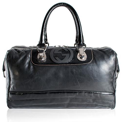 Gucci Snow Glam Satchel Handbag