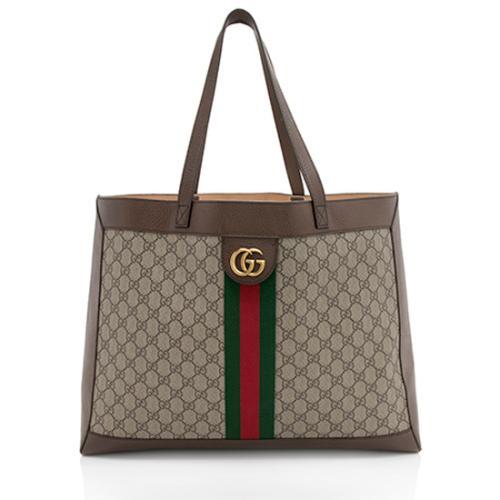 Gucci Soft GG Supreme Ophidia Tote