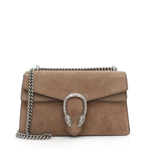 Gucci Suede Dionysus Small Chain Shoulder Bag