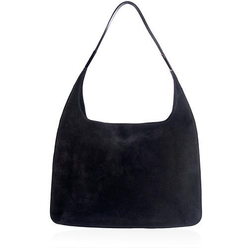 Gucci Suede Hobo Handbag