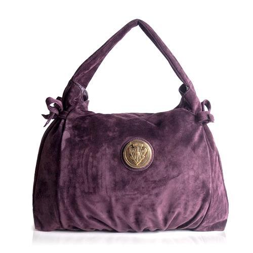 Gucci Suede Hysteria Hobo Handbag
