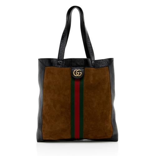 Gucci Suede Ophidia Large Tote