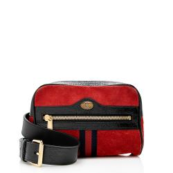 Gucci Suede Ophidia Small Belt Bag - Size 38 / 95