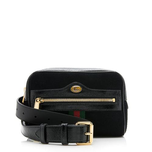 Gucci Suede Ophidia Small Belt Bag