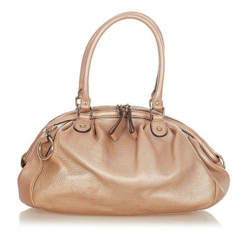 Gucci Sukey Leather Satchel