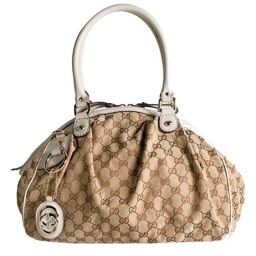 Gucci Sukey Medium Boston Satchel Handbag
